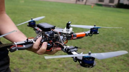 Quadcopter drone pilot flying tips