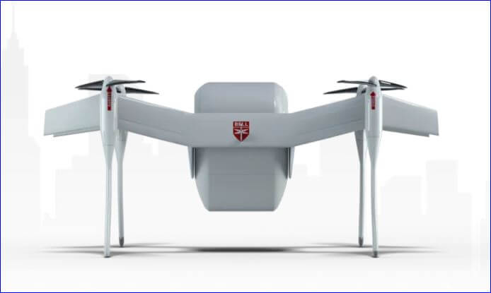 Bell APT 70 cargo carrying drone