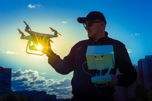 Flying Drones in Hot Weather
